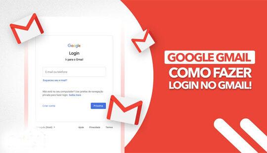Gmail: Como Fazer Login