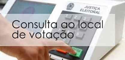 Consulta Local de Votação – TSE – Veja onde vai votar